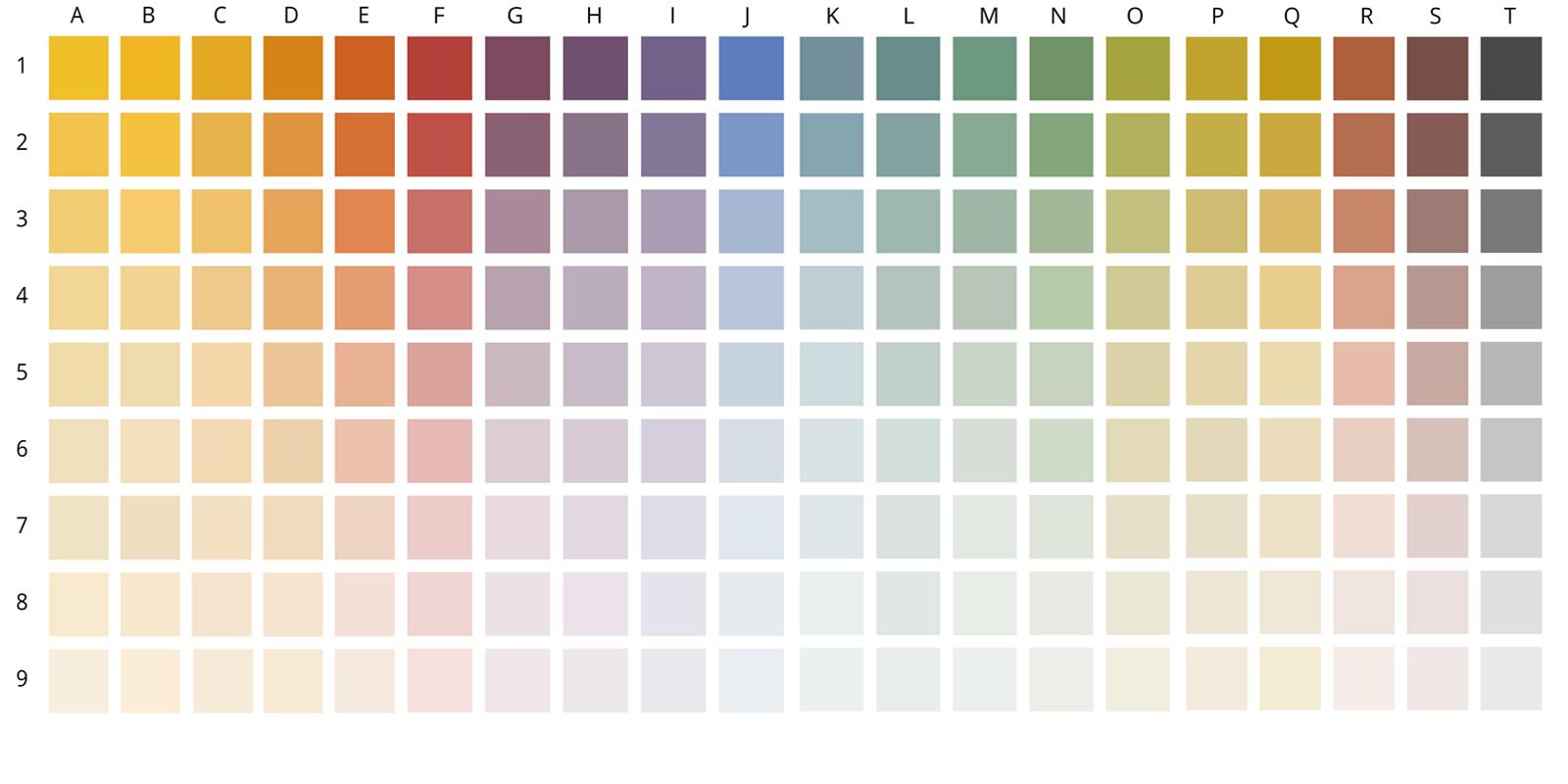 Rapido Farbfächer